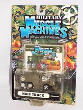 Military Muscle Machines 2003 Release #MMM03-05 Half Track Green