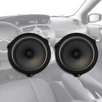 2pcs 6.5-inch Car Door Speaker Spacer Rings Adapter Brackets for Ford Focus