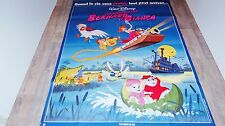 BERNARD ET BIANCA  ! affiche cinema disney animation  1977