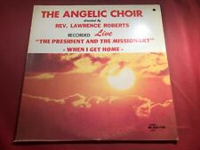 D4-52 THE ANGELIC CHOIR .. GOSPEL .. WHITE LABEL PROMO .. 1977