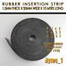 RUBBER INSERTION STRIP 1.5 MM THK X 75 MM W X 10MTR LONG COIL HIGH QUALITY | HYT