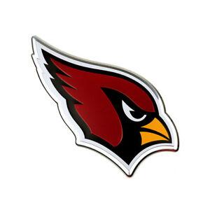 Arizona Cardinals Metal Die Cut Auto Emblem Decal Sticker NFL