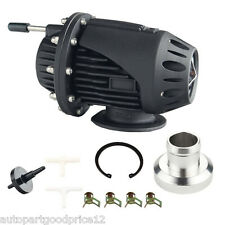 Universal Black SQV 4 SSQV IV Turbo Blow Off Valves BOV with 2.5'' Flang Adapter