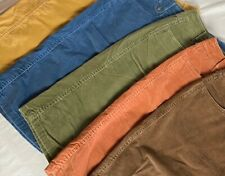 Talbots Women's Corduroy Straight Skirt With Stretch Various Colors
