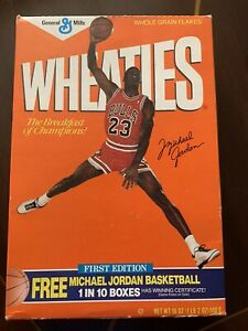 Michael Jordan Wheaties Original First Edition Box (empty)
