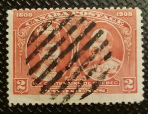 schöne uralte Klassik Briefmarke weltweit aus Kanada