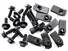 Chrysler Body Bolts & U-Nuts- M6-1.0mm Thread- 10mm Hex- Qty.10 ea.- #151
