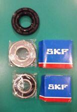 Kit cuscinetti 6306 2Z SKF + 6305 2RS SKF + para acqua  37x76x9,5/12
