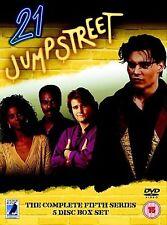21 Jump Street - The Complete Fifth Season Steven Williams DVD Brand New