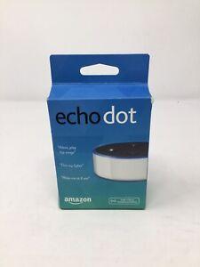 Amazon Echo Dot 2nd Generation - White 2017 NEW