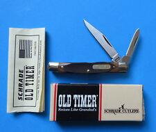 SCHRADE USA Old Timer Middleman Jack Knife 33OT - NEW Dogleg 2 Blade w Box 330T