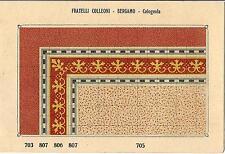 Stampa antica PAVIMENTO A MOSAICO Piastrelle Mattonelle C 705 1910 Antique print