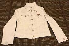 HUDSON White Denim Jacket Child Size 5 Kids