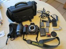 Nikon D D300 Digital Slr Camera with 55-200mm Lens, batteries & accessories, bag