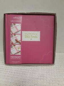"""Hallmark's Girl's First Instant Memory Book-""""My Little Book of Big Firsts"""" NIB"""