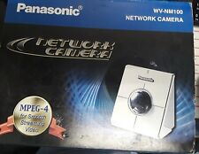 Panasonic WV-NM100 Network Camera New in Original Box with Software