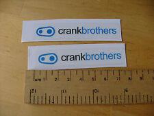 CRANK BROTHERS  - Bike / MTB Decals Self Adhesive MATT (t3m) FREEPOST UK