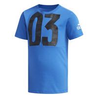 Adidas Boys Tshirts Cotton Youth Kids Tee Training DW4082 Lifestyle Fashion