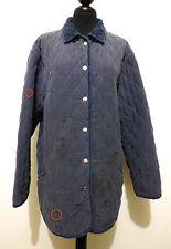 AQUASCUTUM Giacca Giaccone Donna Seta Woman Silk Long Jacket Sz.XL - 48