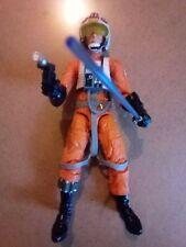 """Star Wars Black Series Luke Skywalker X-Wing Pilot 6"""" figure(very good preowned)"""