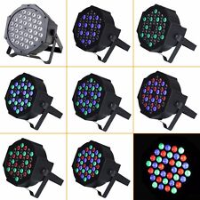 36 LED RGB PAR CAN DJ Stage DMX Lighting For Disco Party Wedding Uplighting