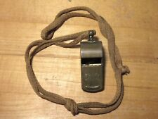 Vintage Brass POLICE SPECIAL Whistle