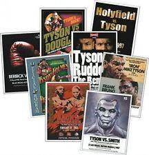 Mike Tyson programma programma copertura Trading Card Set