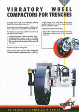 Simex CT 2.8 Vibratory Wheel Compactors brochure Prospekt 9/02 2002 Kompaktor