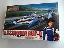 Aoshima 1/24 Scale Cyber Formula Kit Nu-Asurada AKF-0 With Hayato Kazami Figure