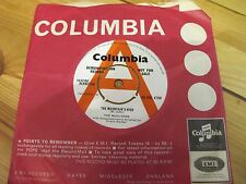 "45-DB 4708 7"" 45RPM 1959 THE MUDLARKS ""THE MOUNTAIN'S HIGH"" PROMO EX/EX-"
