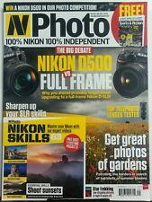 N Photo UK Sept 2016 Nikon D500 vs Full Frame Photos of Gardens FREE SHIPPING sb