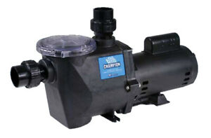 Waterway Champion Swimming Pool Pump CHAMPS-110 1.0 HP 115/230v  CHAMPS110