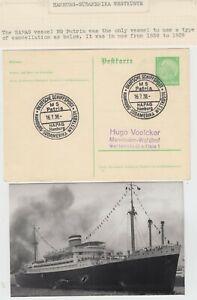MARITIME 1938 HAMBURG-SUDAMERIKA WESTKUSTE::HAPAG cd on pc used for only 1 year?