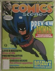 COMICS SCENE MAGAZINE -  ISSUE # 29 - BATMAN COVER - 1992