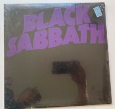 "Black Sabbath LP ""Master of Reality EMBOSSED 1st Press SEALED MINT Ozzy MINT"