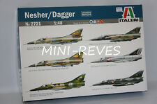Italeri Avion Nesher/Dagger 1/48 2721