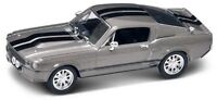 NIB 1/43 Diecast SilverGray 1967 Shelby Mustang GT500 Eleanor Gone In 60 Seconds