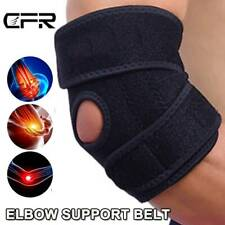Adjustable Elbow Support Brace Tennis Compression Golf Strap Tendonitis Relief O