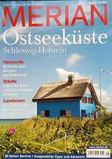 Merian Ostseeküste Schleswig-Holstein   Die Lust am Reisen ungelesen 1A abs. TOP