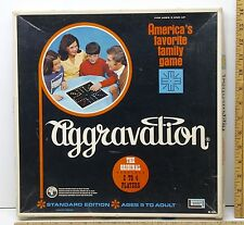 Vintage 1974 Aggravation Family Board Game Lakeside Games #8320 w/Instructions