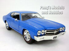Chevrolet Chevelle (1970) SS 1/24 Scale Diecast Metal Model by Jada - Blue