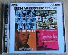 Ben Webster - Blue Saxophones/Soulville/Soul of Ben (2011) - A Fine 2CD Set