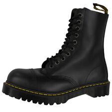 Dr Doc Martens 8761 Boots 10-Loch Leder Stiefel Stahlkappe black 10966001