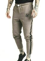SikSilk Mens Ultra Cropped Taped Tech Track Pants _Timber - SIZE - M *RRP £50