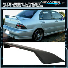Fits 02-07 Mitsubishi Lancer OE Factory Matte Black Trunk Spoiler Wing & 3rd LED