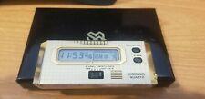 Seiko Quartz Pocket Calendar Travel Alarm Clock Circa 1980's