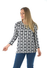 Ladies Ex Marks & Spencer Aztec Print Top