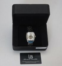 LOUIS BOLLE RAMSES II MENS 21J AUTOMATIC WATCH NEW Silver
