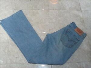 LEVI'S 529 Low Boot Cut Jeans , size 12 UK , 31W 32L