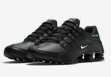 Nike Shox NZ EU Casual Shoes Black White 501524-091 Men's NEW